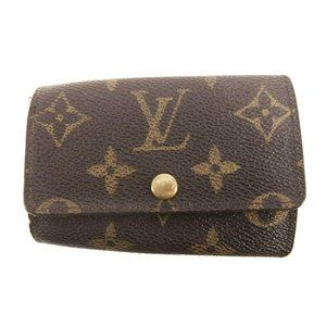 Louis Vuitton Monogram  Key Holder/Wallet #482***